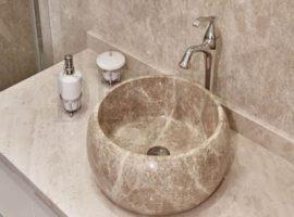 Round Marble Washbasins