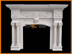Marble Fireplace 03