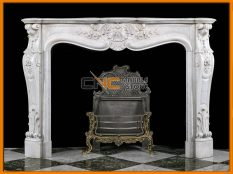 Marble Fireplace 06