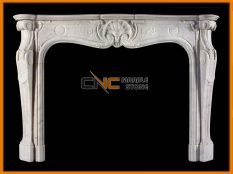 Marble Fireplace 07