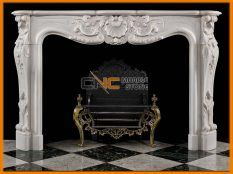 Marble Fireplace 08