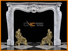 Marble Fireplace 09