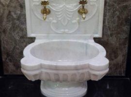Séchage Du Bain De Marbre